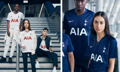 Tottenham Hotspur 2019 2020 Nike Home and Away Football Kit, Soccer Jersey, Shirt, Camiseta de Futbol, Camisa, Maillot, Trikot, Tenue, Dres