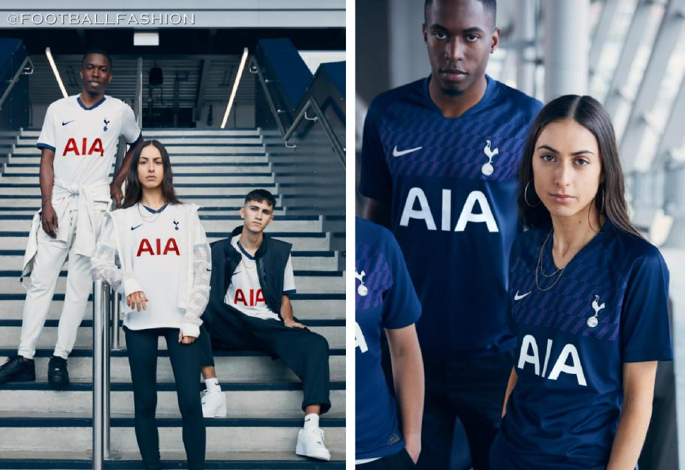 brand new ac1b2 802ee Tottenham Hotspur 2019/20 Nike Home and Away Kits - FOOTBALL ...