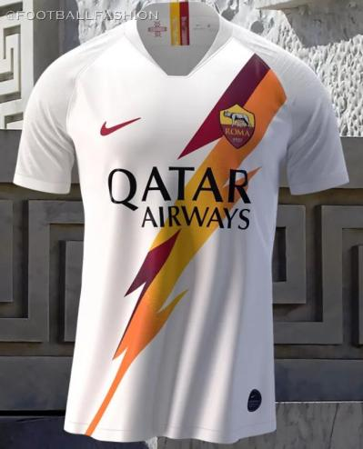 AS Roma 2019 2020 Nike Away Football Kit, Soccer Jersey, Shirt, Camiseta, Camisa, Maglia, Gara, Trikot, Maillot, Tenue