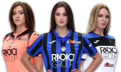 Atalanta 2019 2020 Joma Home and Away Football Kit, Soccer Jersey, Shirt, Maglia, Gara