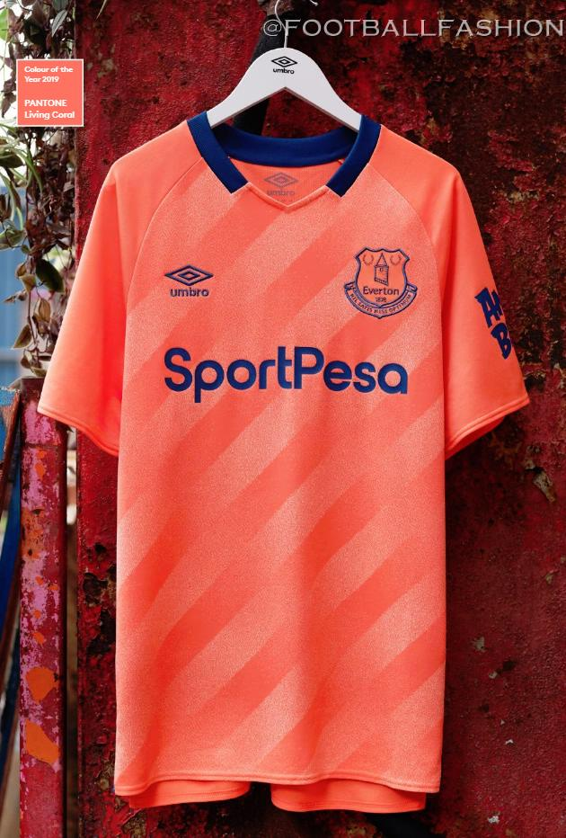 sneakers for cheap 2620c 15706 Everton 2019/20 Umbro Away Kit - FOOTBALL FASHION.ORG
