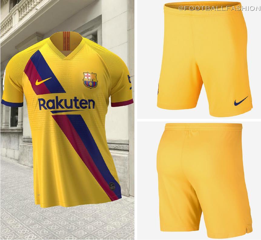 new product 770c1 bf672 FC Barcelona 2019/20 Nike Away Kit - FOOTBALL FASHION.ORG