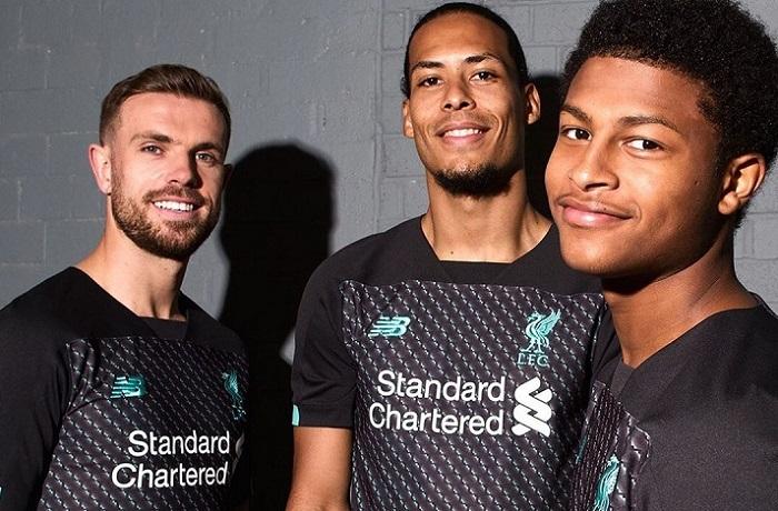 Liverpool FC 2019 2020 Black New Balance Third Football Kit, Soccer Jersey, Shirt, Camiseta, Camisa, Maillot, Trikot