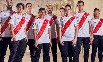 River Plate 2019 2020 adidas Home Football Kit, Soccer Jersey, Shirt, Camiseta de Futbol
