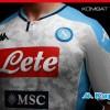 SSC Napoli 2019 2020 Kappa Away and Third Football Kit, Soccer Jersey, Shirt. Camiseta, Camisa, Gara, Maglia