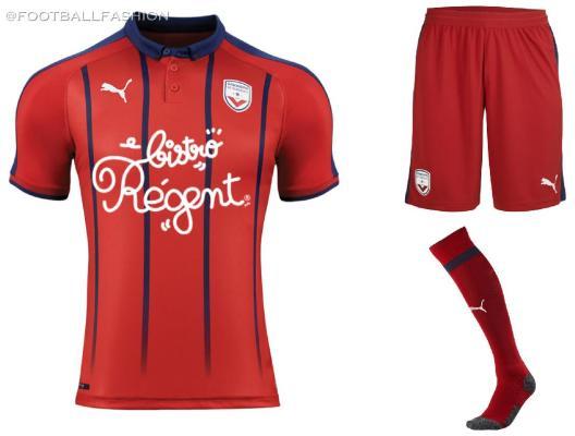 Girondins de Bordeaux 2019 2020 PUMA Football Kit, Soccer Jersey, Shirt, Maillot