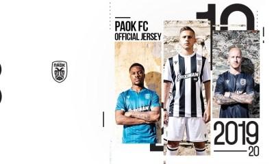 PAOK FC 2019 2020 Macron Football Kit, Soccer Jersey, Shirt
