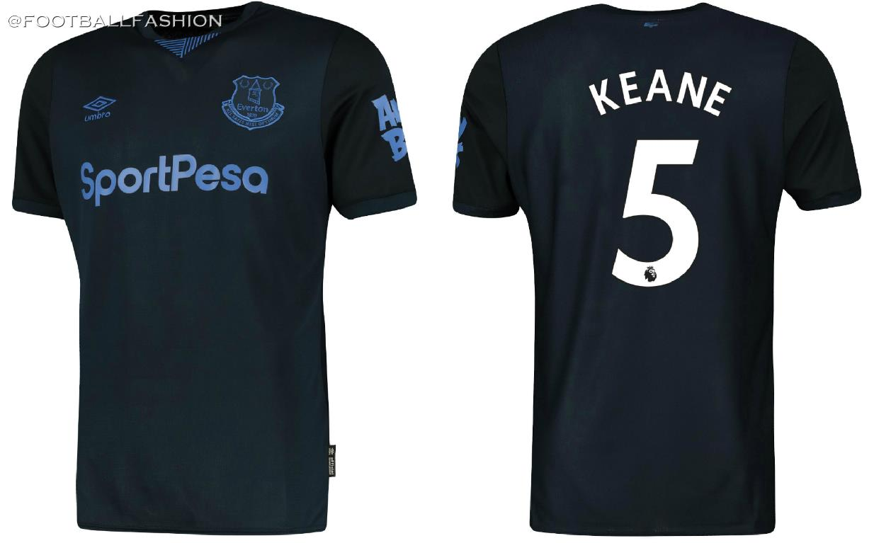 detailing 9b0bd c3813 Everton 2019/20 Umbro Third Kit - FOOTBALL FASHION.ORG