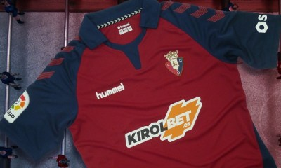 CA Osasuna 2019 2020 hummel Home and Away Football Kit, Soccer Jersey, Shirt, Camiseta de Futbol