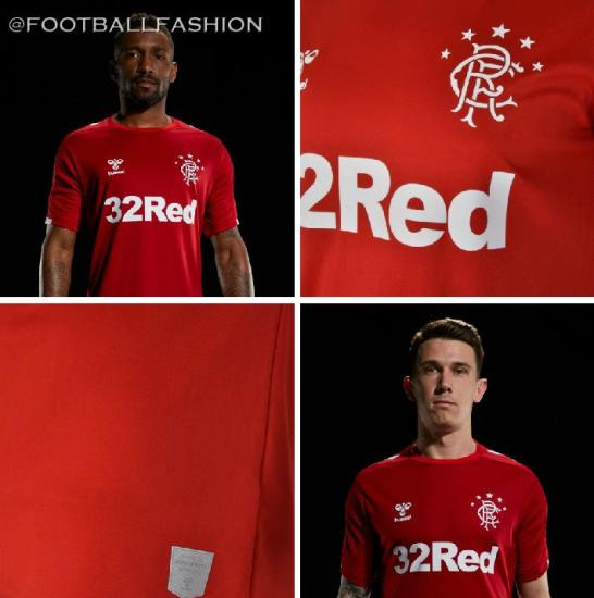 Rangers Football Club 2019 2020 hummel Third Kit, Soccer Jersey, Shirt