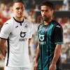 Swansea City 2019 2020 Joma Home and Away Football Kit, Soccer Jersey, Shirt