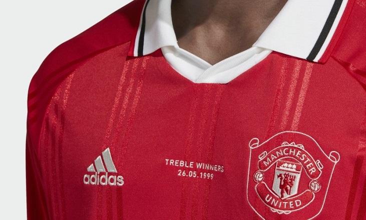 Manchester United 2019 Adidas Icon Jersey Football Fashion