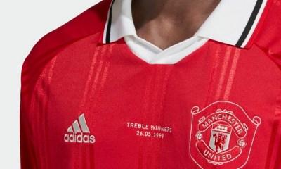 Manchester United 2019 2020 adidas Retro Icon Football Kit, Soccer Jersey, Shirt, Camiseta, Camisa, Maillot, Trikot