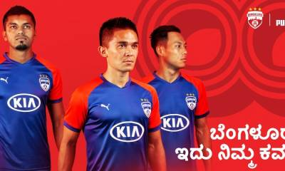 Bengaluru FC 2019 2020 PUMA Home, Away and Third Football Kit, Soccer Jersey, Shirt