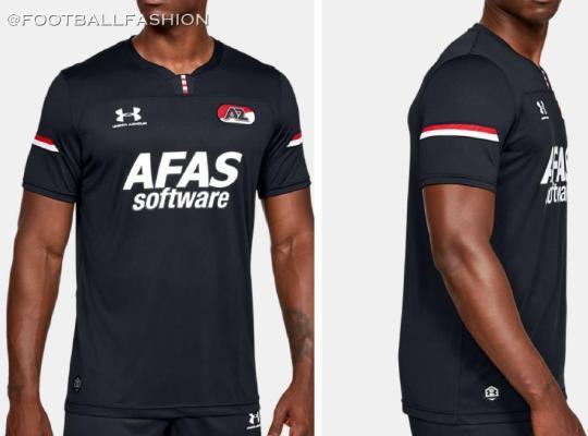 AZ 2019 2020 Under Armour Away Football Kit, Soccer Jersey, Shirt, Tenue, Wedstrijdshirt