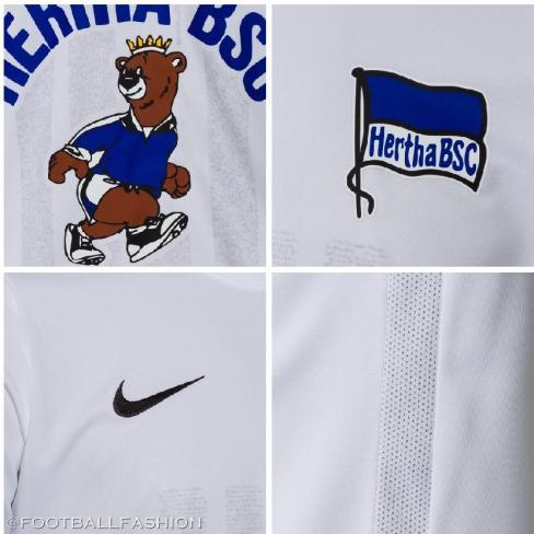 Hertha BSC Mauerfall 30th Anniversary 2019 2020 Football Kit, Soccer Jersey, Shirt, Trikot
