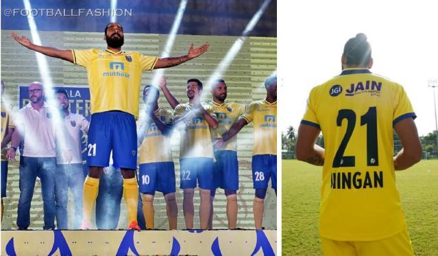 Kerala Blasters 2019 2020 Home and Away Football Kit, Soccer Jersey, Shirt
