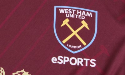 West Ham 2019 2020 Umbro eSports Football Kit, Soccer Jersey, Shirt