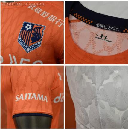 Omiya Ardija 2020 Under Armour Home and Away Football Kit, Soccer Jersey, Shirt