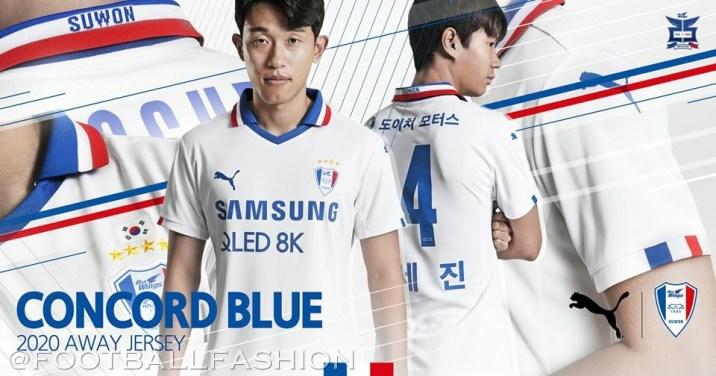 Suwon Samsung Bluewings 2020 PUMA Football Kit, Soccer Jersey, Shirt