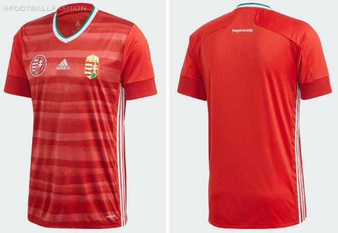 Hungary 2020 2021 adidas Home and Away Football Kit, Soccer Jersey, Shirt, Mez