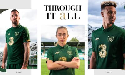 Republic of Ireland 2019 2020 New Balance Home Football Kit, Soccer Jersey, Shirt