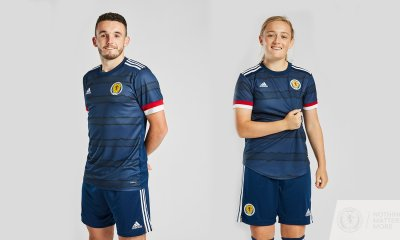 Scotland 2020 2021 adidas Home Football Kit, Soccer Jersey, Shirt