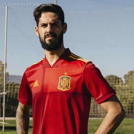 Spain EURO 2020 adidas Home Football Kit, Soccer Jersey, Shirt, Camiseta, Equipacion
