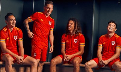 Wales EURO 2020 Home Football Kit, Soccer Jersey, Cymru Shirt