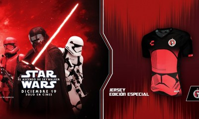 Xolos de Tijuana x Star Wars 2019 Soccer Jersey, Shirt, Football Kit, Camiseta de Futbol