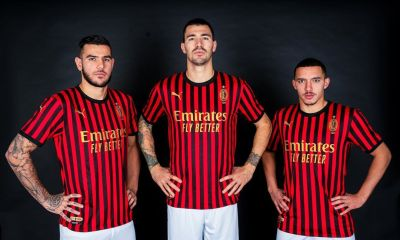 AC Milan 120th Anniversary PUMA Football Kit, Soccer Jersey, Shirt, Gara, Maglia 120 anni, Camiseta, Camisa