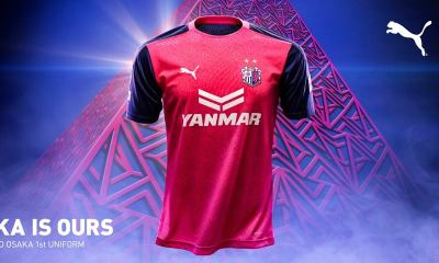 Cerezo Osaka 2020 PUMA Home and Away Football Kit, Soccer Jersey, Shirt