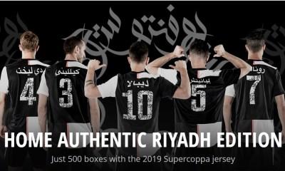 Juventus Riyadh Edition Supercoppa Italiana 2019 2020 adidas Home Football Kit, Soccer Jersey. Shirt, Camiseta, Gara, Maglia, Camisa, Trikot