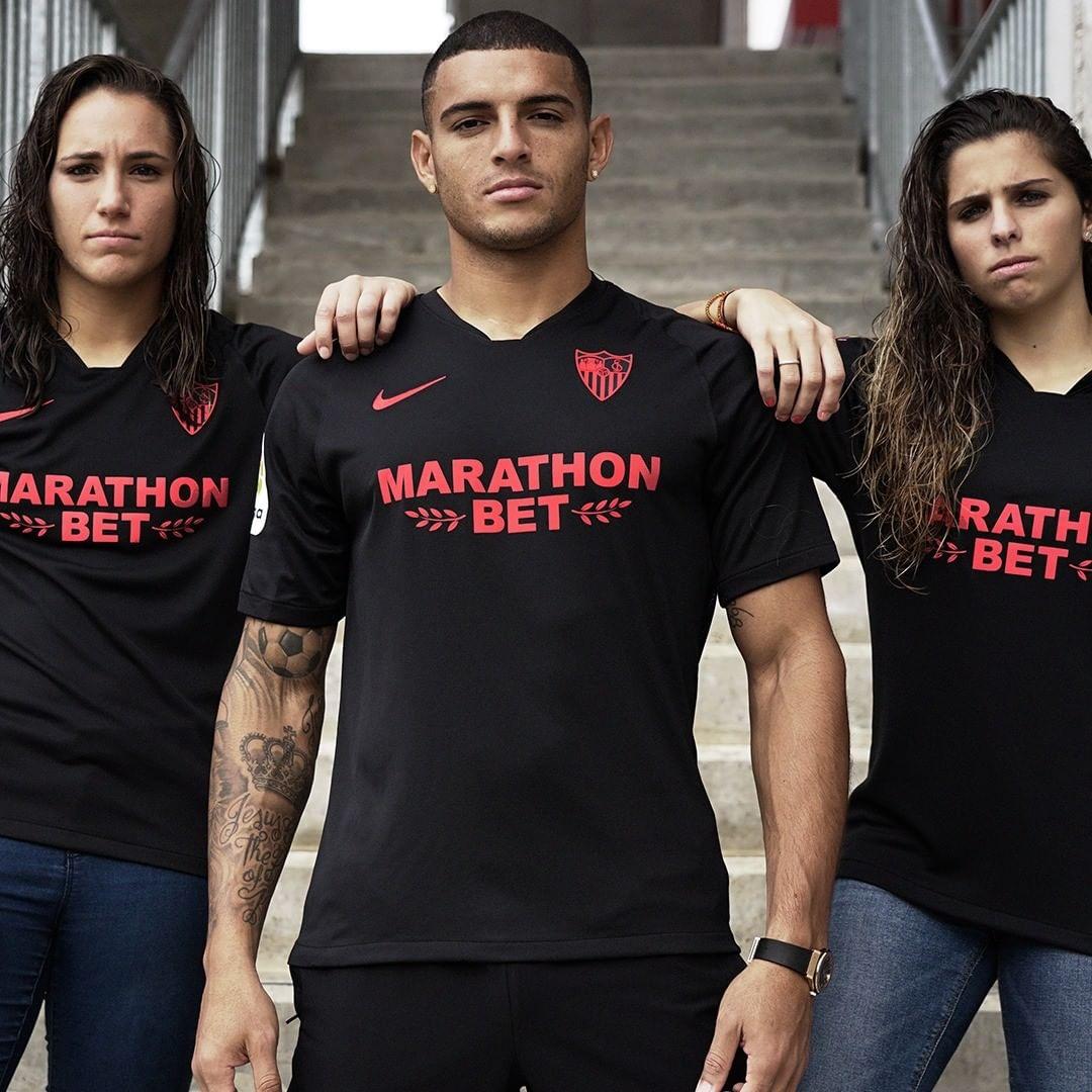 Sevilla FC 2019/20 Black Limited Edition Nike Kit ...