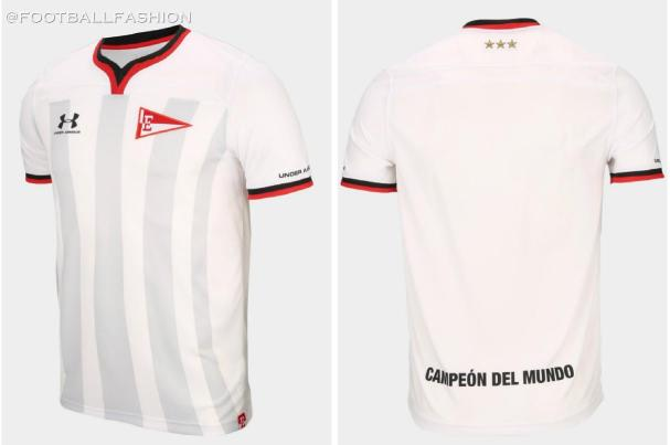 Estudiantes de La Plata 2020 Under Armour Football Kit, Soccer Jersey, Shirt, Camiseta de Futbol