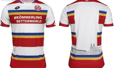 Mainz 05 Lotto 2020 Carinival Soccer Jersey, Football Kit, Shirt, Trikot