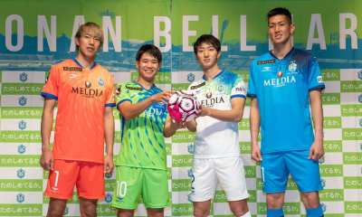 Shonan Bellmare 2020 Penalty Home and Away Football Kit, Soccer Jersey, Shirt