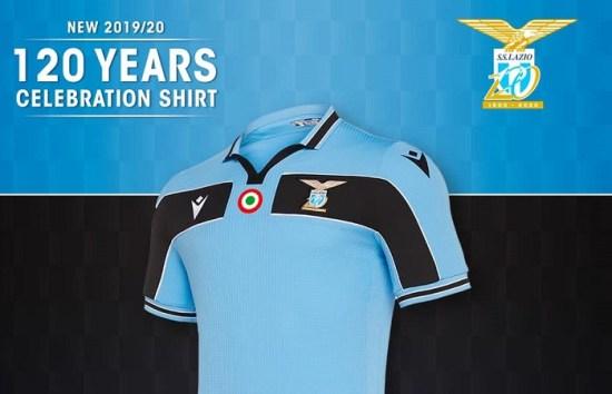 SS Lazio 2020 120th Anniversary Macron Football KIt, Soccer Jersey, Shirt, Maglia, Gara 120 anni