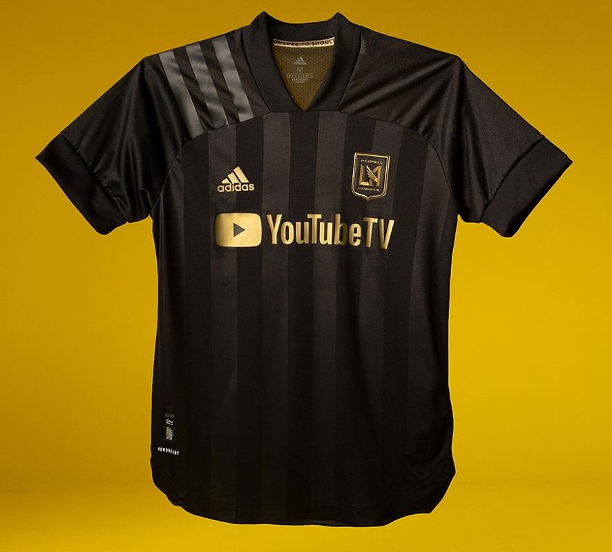 LAFC 2020/21 adidas Home Jersey - FOOTBALL FASHION