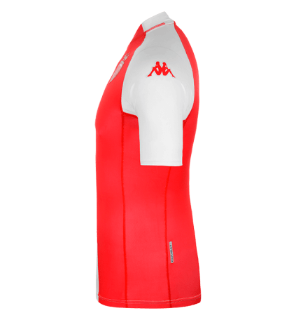 AS Monaco Kappa XX Home Football Kit, Soccer Jersey, Shirt, Maillot 2000