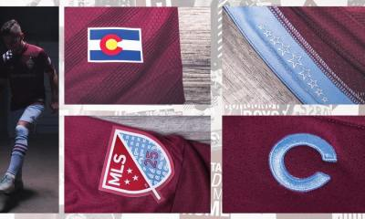 Colorado Rapids 2020 adidas Home Football Kit, Soccer Jersey, Shirt, Camiseta de Futbol
