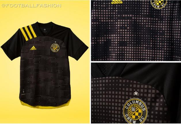 Columbus Crew 2020 adidas Home Soccer Jersey, Football Kit, Shirt, Camiseta de Futbol MLS