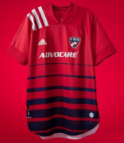 FC Dallas 2020 adidas Home Soccer Jersey, Shirt, Football Kit, Camiseta de Futbol
