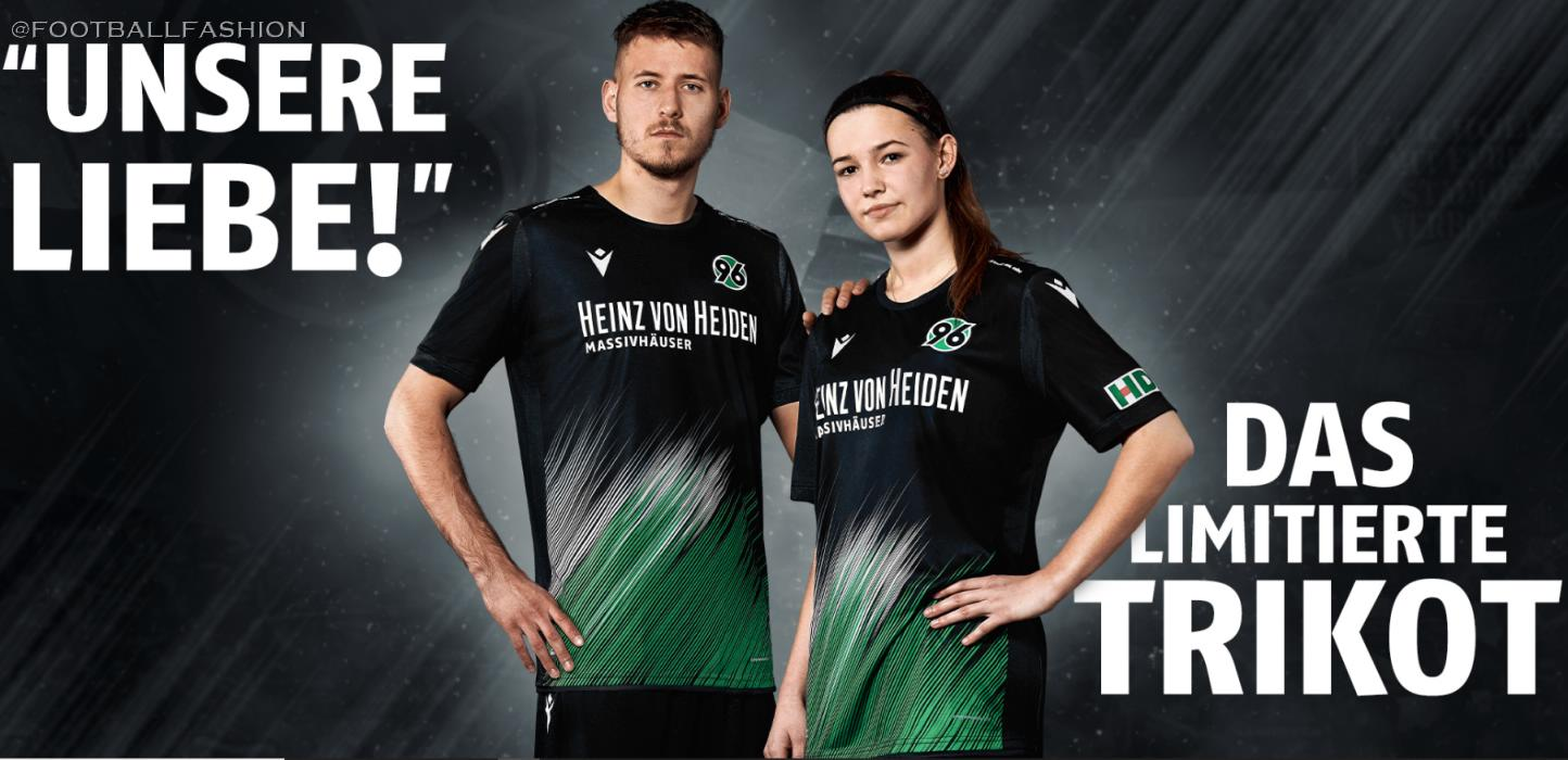 Hannover 96 Our Love 2020 Macron Kit Football Fashion
