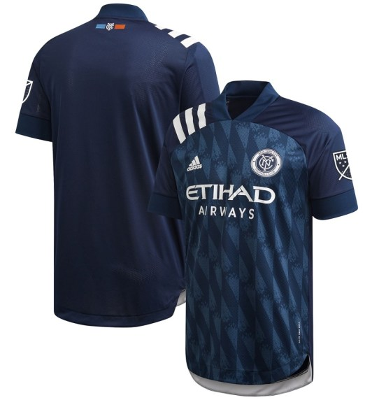 New York City FC 2020 2021 adidas 'Gotham' Away Soccer Jersey, Shirt, Football Kit, Camiseta de Futbol MLS