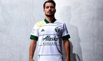 Portland Timbers 2020 adidas White Away Soccer Jersey, Shirt,, Football Kit, Camiseta de Futbol