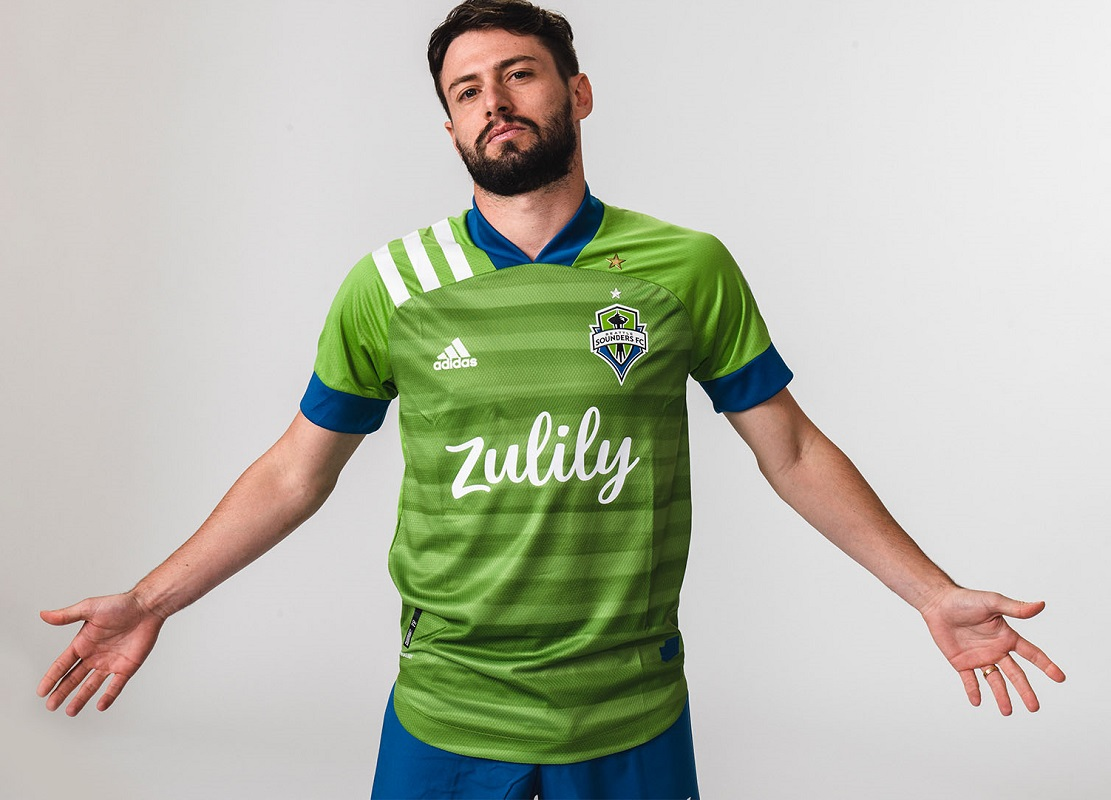 Seattle Sounders 2020/21 adidas Home Jersey - FOOTBALL FASHION