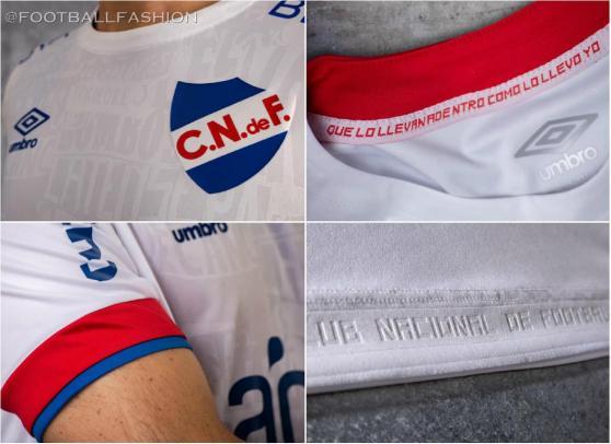 Club Nacional 2020 2021 Umbro Home Football Kit, Soccer Jersey, Shirt, Camiseta de Futbol