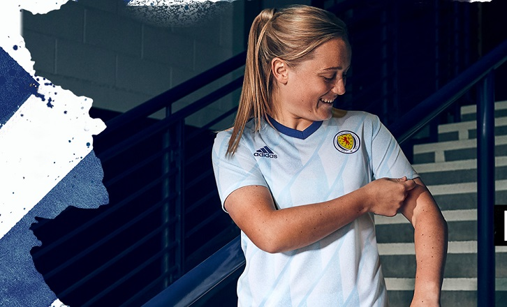 Scotland 2020 2021 2022 adidas Away Football Kit, Soccer Jersey, Shirt