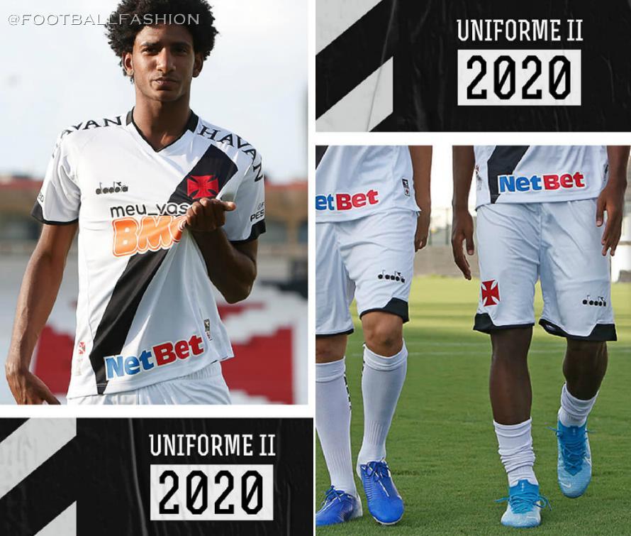 Vasco Da Gama 2020 21 Diadora Away Kit Football Fashion